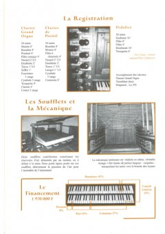 La re ?gistration de l'orgue
